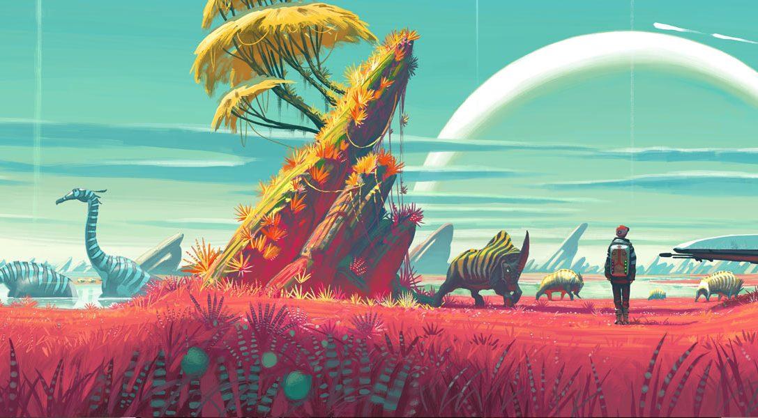 Ecco come gli artisti di Hello Games hanno concepito l'universo infinito di No Man's Sky