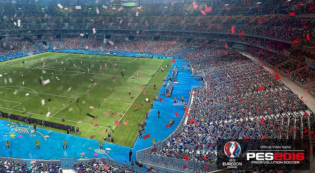 PES 2016 – UEFA Euro 2016 esce oggi per PS3 e PS4