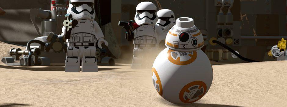 Dai un'occhiata al pacchetto PS4 di LEGO Star Wars: Il Risveglio della Forza