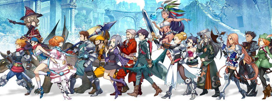 Il nuovo trailer del GdR giapponese Grand Kingdom per PS4 e PS Vita presenta le classi dei personaggi