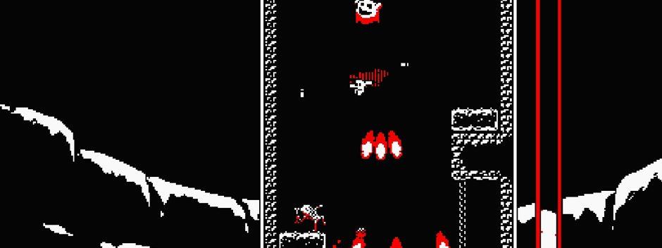 L'acclamato platform verticale Downwell arriva su PS4 e PS Vita questo mese