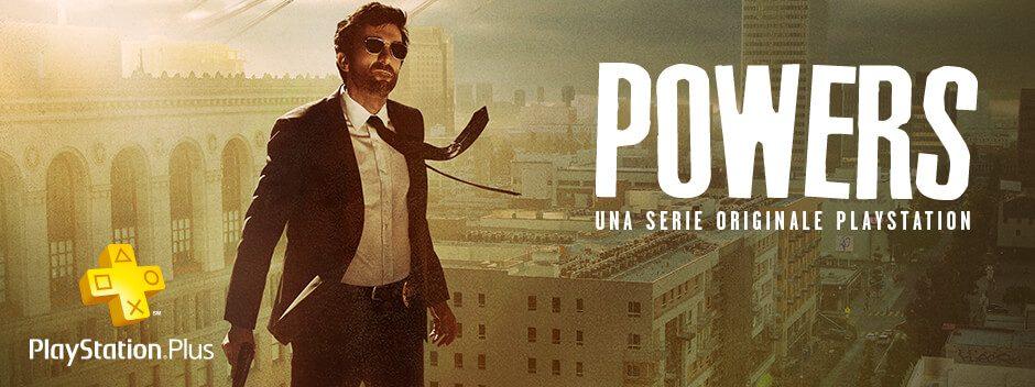 Dal 31 Maggio su PlayStation Network: Powers, la serie tv originale targata PlayStation
