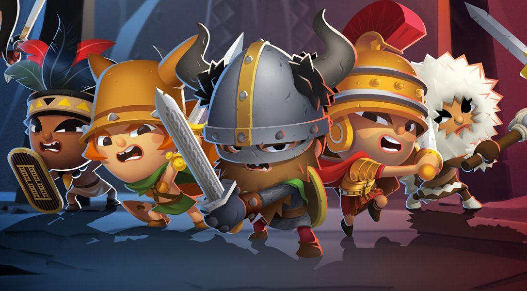 World of Warriors, dai creatori di Moshi Monsters, è in arrivo su PS4