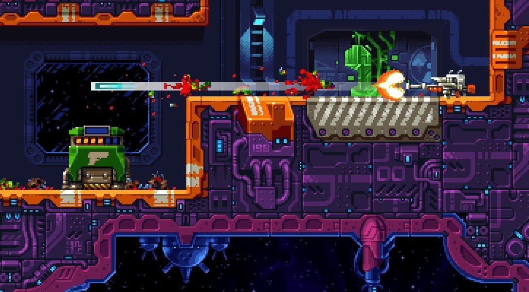 Il brutale platform Super Mutant Alien Assault arriva su PS4 quest'estate