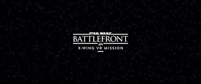 Star Wars Battlefront: X-Wing VR Mission presentato all'E3, in arrivo prossimamente solo per PS VR