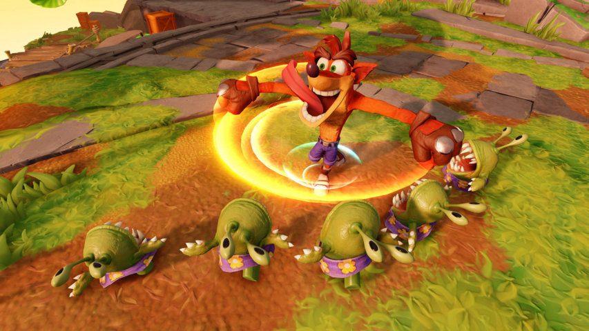 Crash Bandicoot sta arrivando su Skylanders Imaginators
