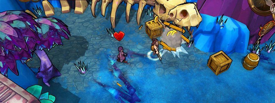 L'avventura di esplorazione a generazione procedurale Lost Sea arriverà su PS4 il mese prossimo