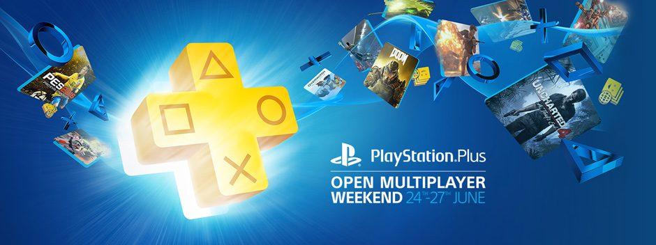 L'open weekend di PlayStation Plus inizia questo venerdì