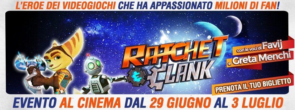 Ratchet & Clank, dalla console al grande schermo