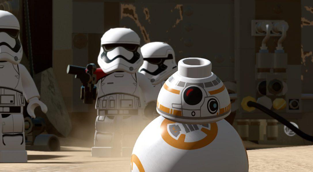 LEGO Star Wars: Il Risveglio della Forza per PlayStation avrà contenuti scaricabili esclusivi al lancio