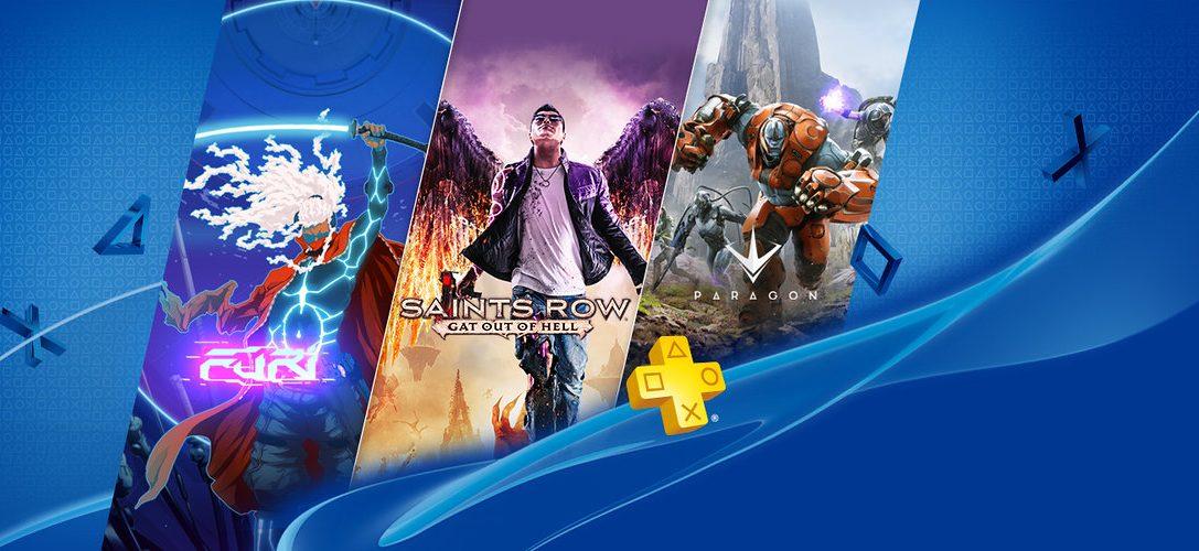 Saints Row: Gat Out Of Hell e Furi arriveranno su PlayStation Plus il 5 luglio