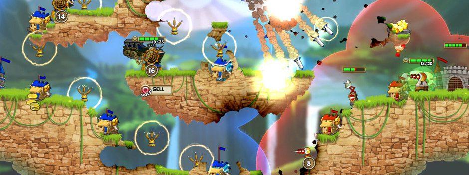 Il frenetico gioco RTS Cannon Brawl arriva su PS4 il 3 agosto