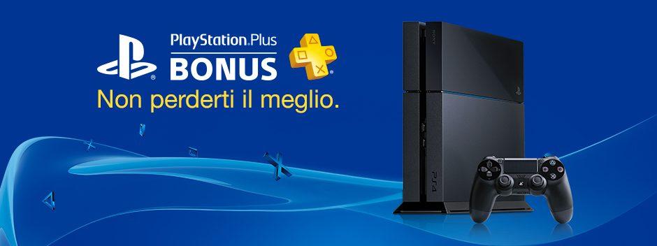 PlayStation Plus Bonus di Luglio