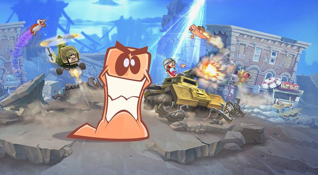 Worms W.M.D ha preso di mira il 23 agosto per la sua uscita su PS4