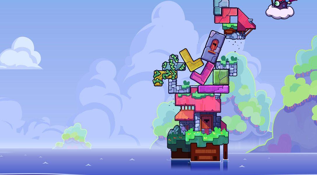 Tricky Towers porta l'azione frenetica multigiocatore su PS4 il 2 agosto