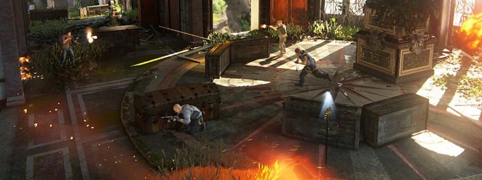Disponibile oggi una nuova mappa per Uncharted 4 Multigiocatore insieme all'ultimo aggiornamento