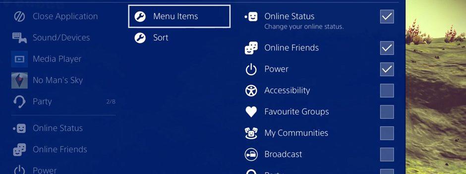 """Scopri in che modo il """"Menu rapido"""" di PS4 ti mette tutto ciò che ti serve a portata di tasto"""
