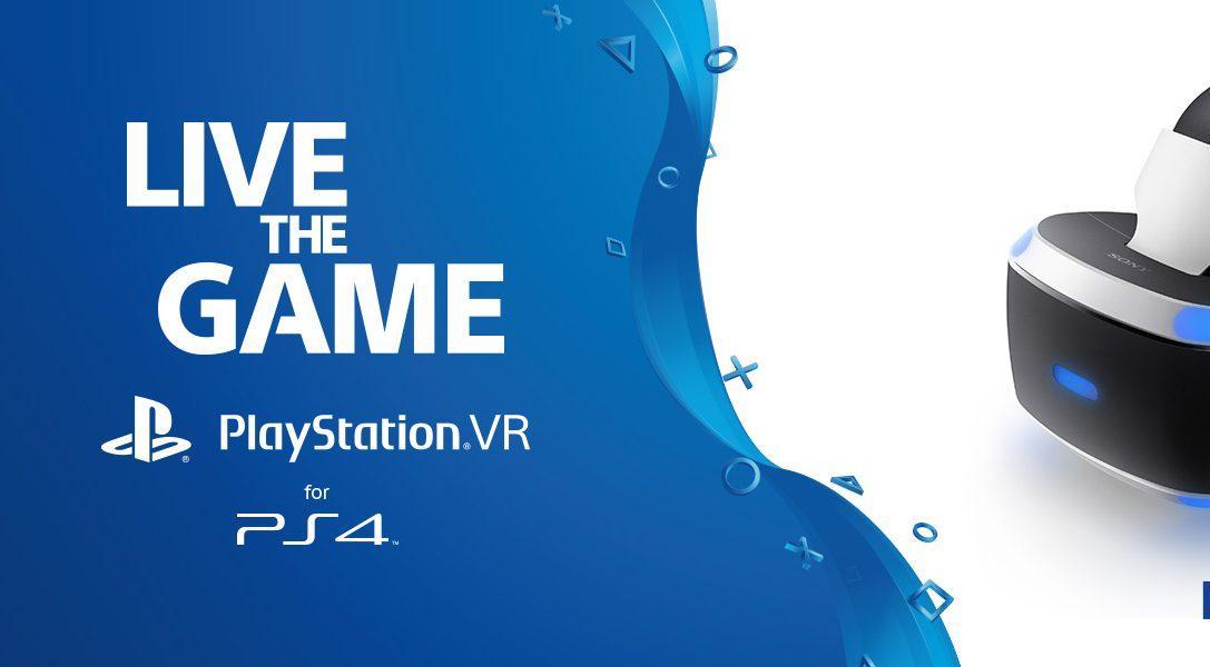 PlayStation VR: i prossimi appuntamenti