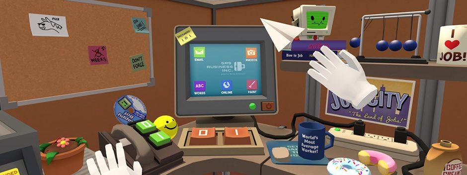 Lavorare non è mai stato così bello, grazie a Job Simulator per PlayStation VR
