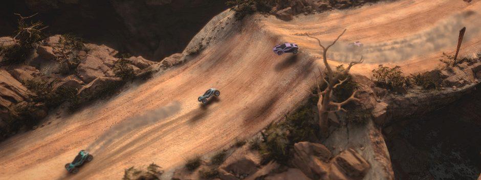 Il gioco di corse con visuale dall'alto Mantis Burn Racing sfreccerà su PS4 il 12 ottobre
