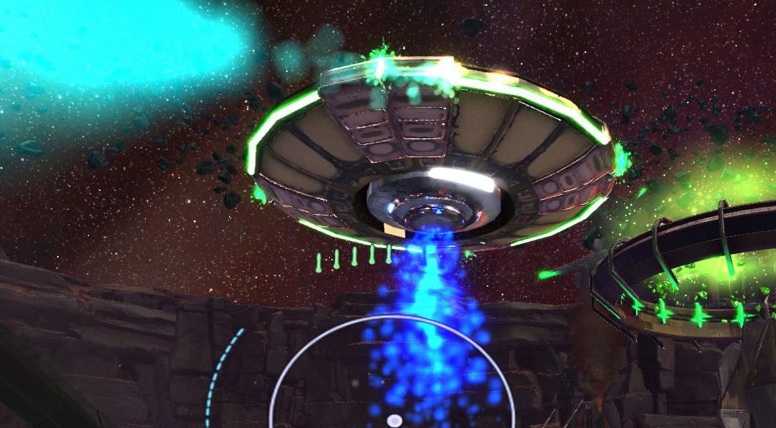 Super Stardust Ultra VR arriva tra i giochi di lancio di PlayStation VR