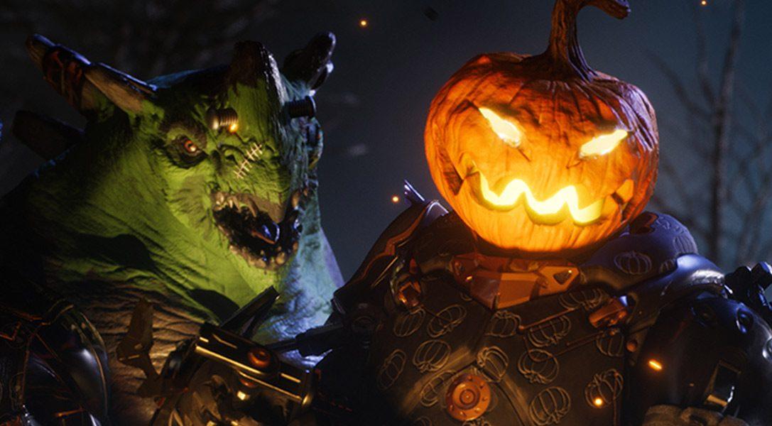 Le skin a tema Halloween in edizione limitata infestano il MOBA per PS4 Paragon questo mese