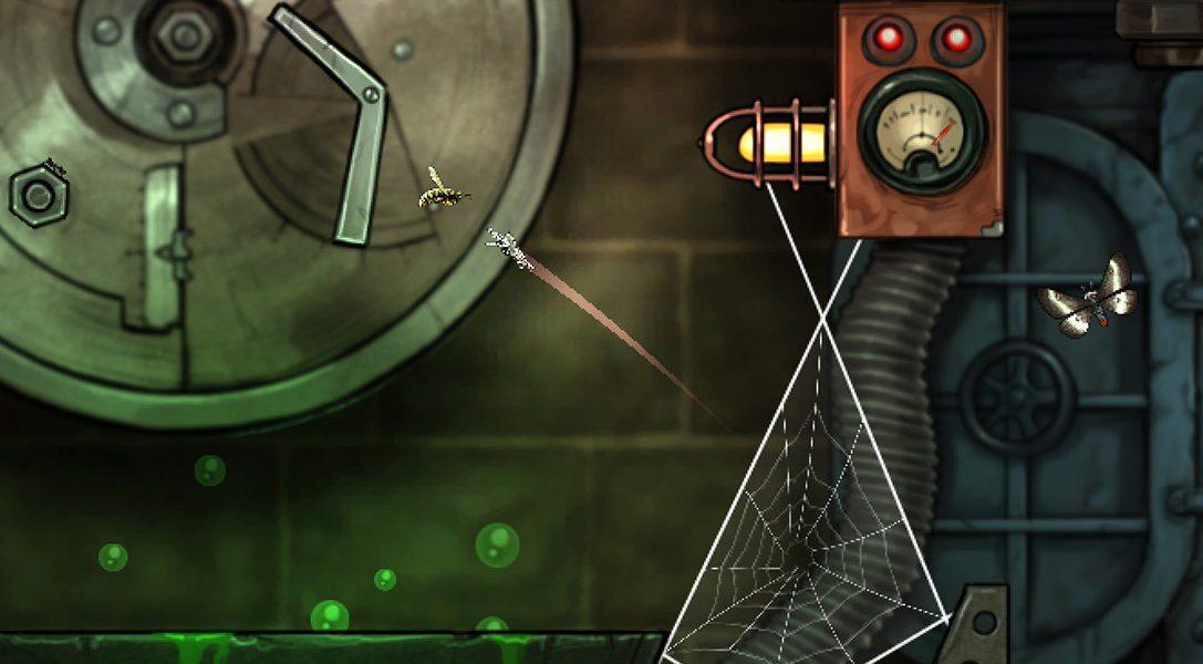 Il gioco-puzzle d'ambiente Spider: Rite of the Shrouded Moon esce domani su PS4 e PS Vita