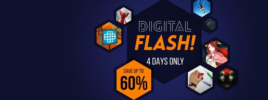 La promozione Digital Flash del PS Store comincia oggi