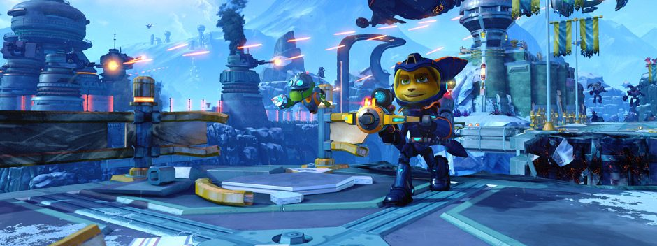 Come PS4 Pro migliora Ratchet & Clank