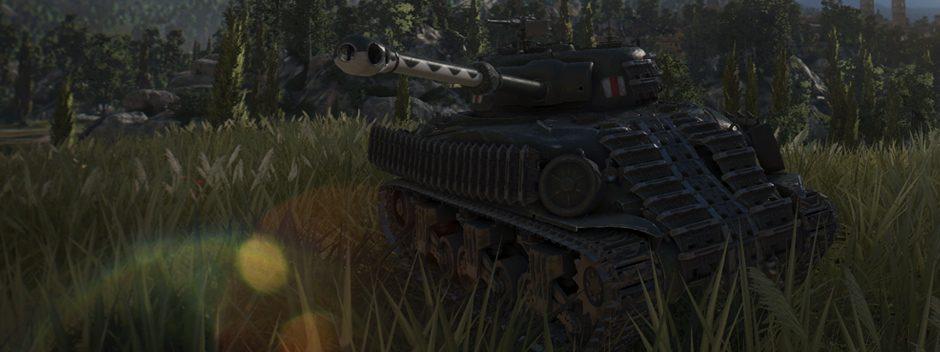 World of Tanks: un campo di battaglia ancora migliore con PS4 Pro
