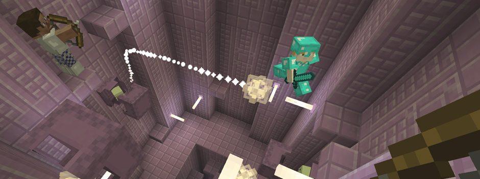 Prendi il volo nell'imminente aggiornamento natalizio di Minecraft