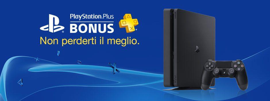 PlayStation Plus Bonus di Novembre
