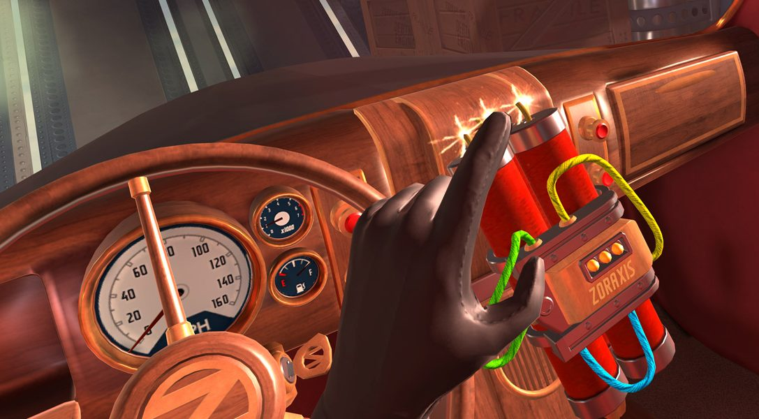 La morte abbonda nel titolo di spionaggio per PlayStation VR, I Expect You To Die, in arrivo a dicembre