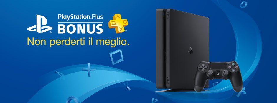 PlayStation Plus Bonus di dicembre