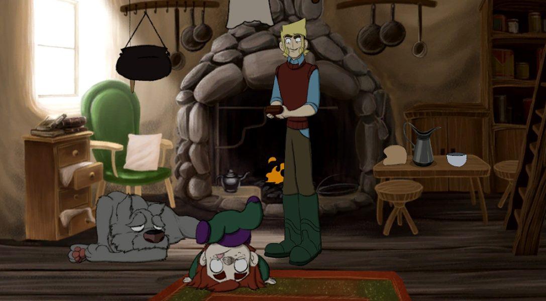 I quattro anni di lavoro di animazione che hanno dato vita all'avventura The Little Acre su PS4