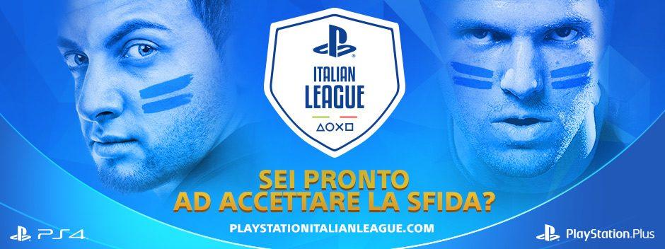 PlayStation Italian League vi sfida tutti i giorni