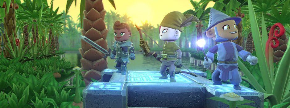 Il GDR d'azione a modalità libera Portal Knights è in arrivo su PlayStation 4