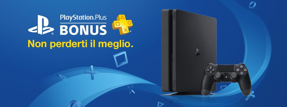 PlayStation Plus Bonus di gennaio