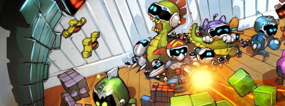 Un nuovo gioco, 'Guerra di giocattoli', viene aggiunto oggi a The Playroom VR, ed è gratis