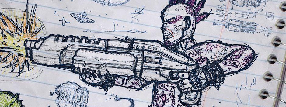 David Jaffe parla del suo sparatutto a squadre per PS4 Drawn to Death e di come stia per reinventare il suo genere
