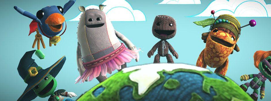 LittleBigPlanet 3 include dieci milioni di livelli: scoprite i tre da non perdere