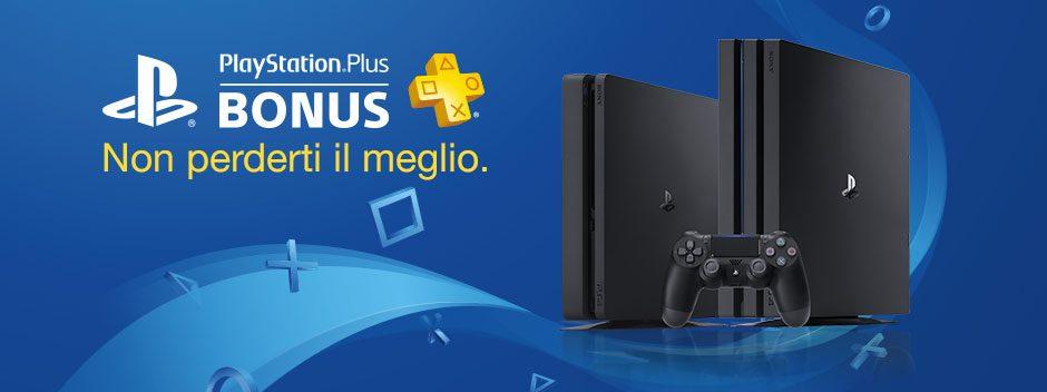 PlayStation Plus Bonus di Marzo