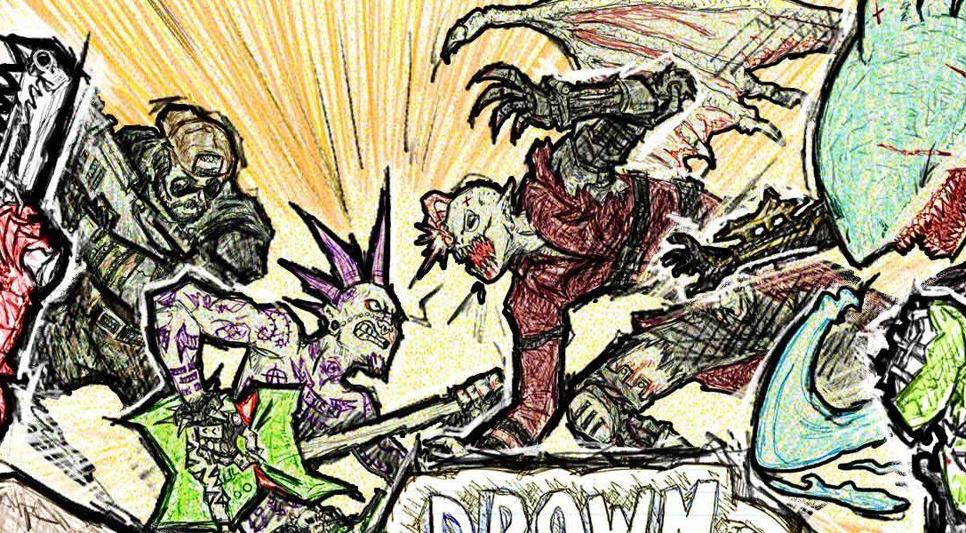 Per gli abbonati a PS Plus il prossimo mese  lo sparatutto per PS4 Drawn do Death sarà gratuito!