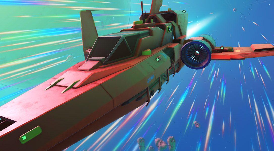 No Man's Sky: l'aggiornamento Pathfinder introduce veicoli, supporto per PS4 Pro e tanto altro