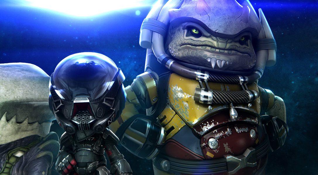 Pack costumi di Mass Effect: Andromeda disponibile su LittleBigPlanet 3