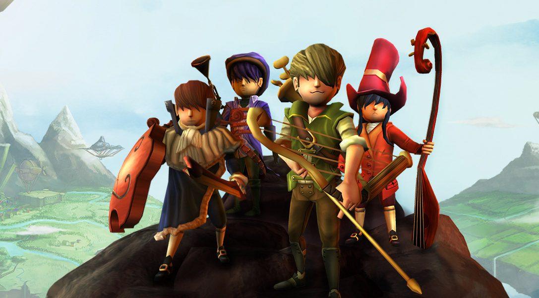 Il GdR d'azione musicale AereA arriva su PS4 a giugno