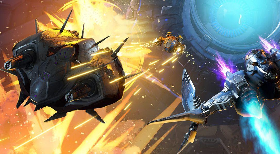 Lo space combat sparatutto per PlayStation VR StarBlood Arena sbarca domani su PS4