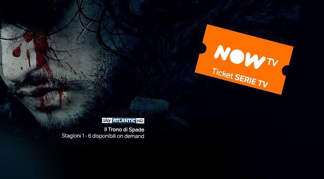 Guarda le Serie TV di NOW TV sulla tua PlayStation ad un prezzo speciale!