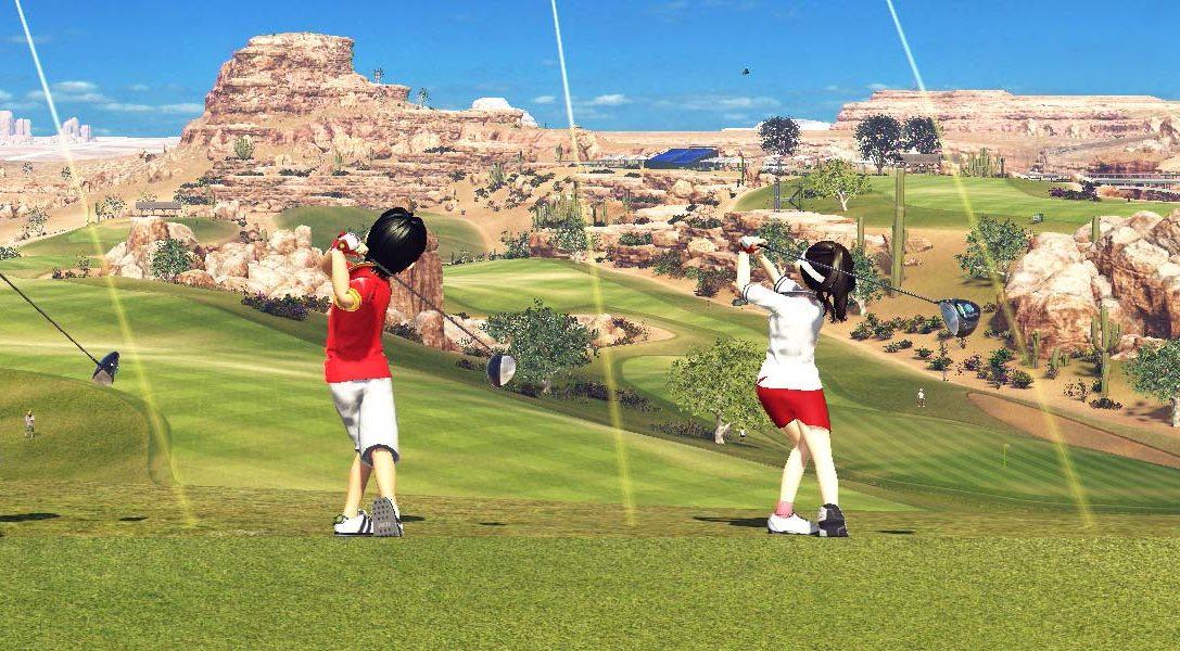 Everybody's Golf arriva su PS4 il 30 agosto