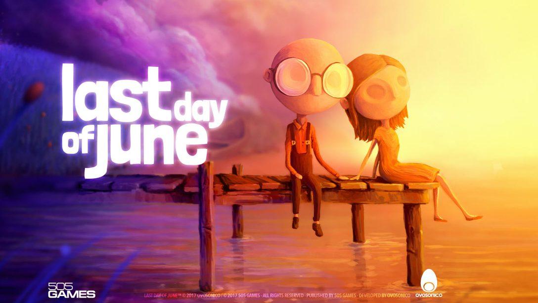 Annunciato Last Day of June, un viaggio interattivo che vi farà emozionare